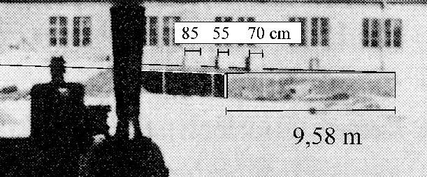 höhe quadratische säule